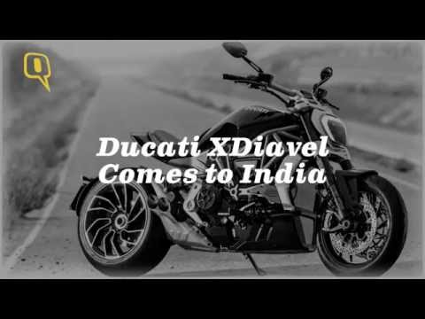 The Quint: Ducati XDiavel Cruiser Storms into India