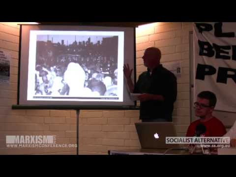 The 1998 Maritime Union Dispute - Jerome Small @ Marxism 2012