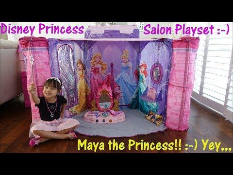 Disney Princess Salon Play Tent, Beauty Salon Pretend Play Set, Disney Vanity Set and More!