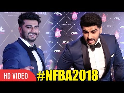 Dashing Arjun Kapoor At Nykaa FEMINA Beauty Awards 2018 NFBA2018