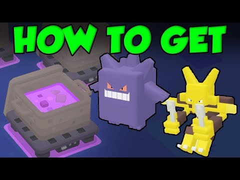 Pokemon Quest Gengar Guide! How To Get Gengar And Alakazam In Pokemon Quest!