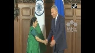 Indian Foreign Minister meets Russian leaders in Moscow to enhance ties