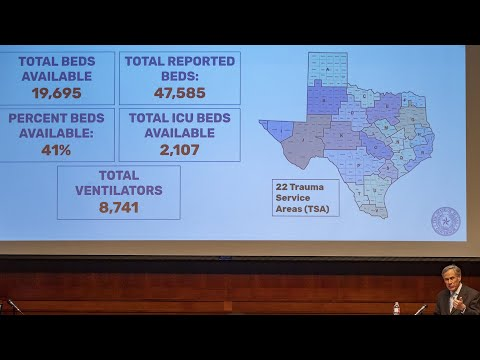 Abbott: Texas Increased Hospital Beds In Response To Coronavirus
