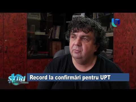 TeleU: Record la confirmări pentru UPT