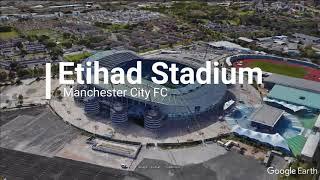 Manchester City FC Home Stadium Etihad Stadium