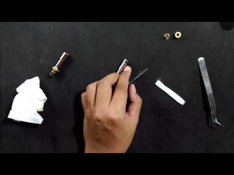 How to build new coil for aspire breeze, cara membuat coil aspire breeze