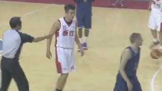 "6'7"" Chinese Pro trys to FIGHT The Professor after being EMBARASSED! Video"