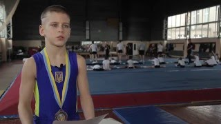 Smart Ukraine: Репортаж с открытого чемпионата Киева по гимнастике, 2 апреля 2016 г.