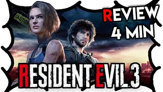 Resident Evil 3 Review (4 Min) | MrWoodenSheep (Video Game Video Review)