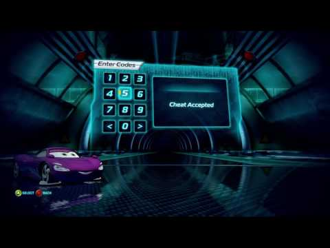 Cars 2: The Video Game | Secret Codes | I Know How To Cheat!