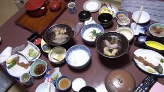 混浴露天風呂もある和泉屋旅館の夕飯は美味しかった!これであなたも温泉美人に!