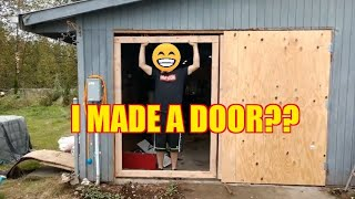 Ep.18 How To Build a Garage Door?