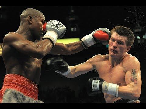 Floyd Mayweather vs. Ricky Hatton highlights
