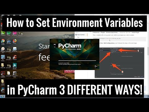 How To Set Environment Variables In PyCharm - 3 Different Ways!