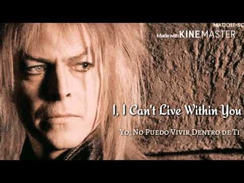 Within You - David Bowie (Subtitulos Inglés - Español)