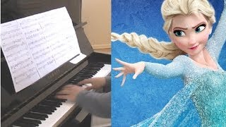 "A ""Frozen"" Rhapsody in Blue - (Piano Rendition w/ Free Sheet Music)"