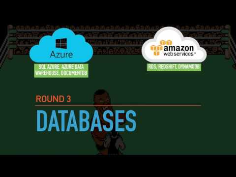 Cloud Wars  AWS vs  Microsoft Azure   GenX