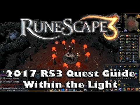 RS3 Quest Guide - Within the Light - 2017 - Last Quest Before Prif!