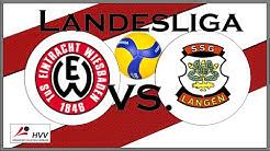 Eintracht Wiesbaden vs. SSG Langen 2 [Volleyball Landesliga Süd]