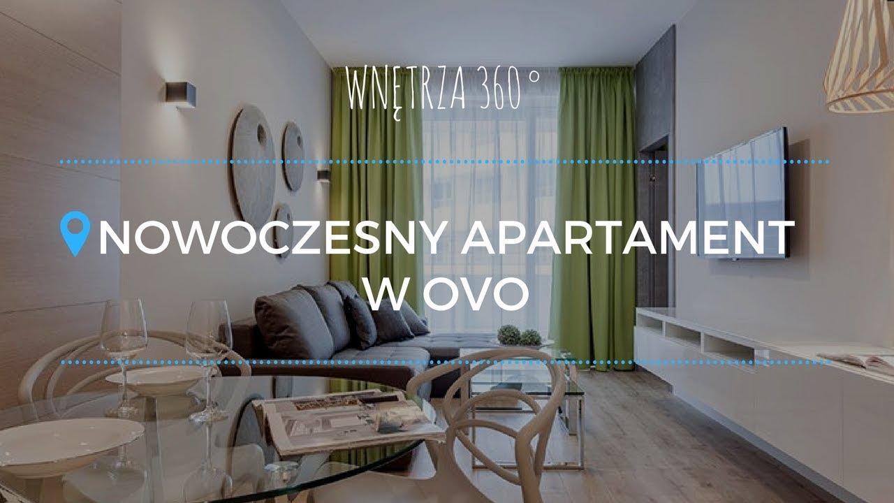 Nowoczesny apartament we wrocławskim OVO #projektwnętrz #architekt