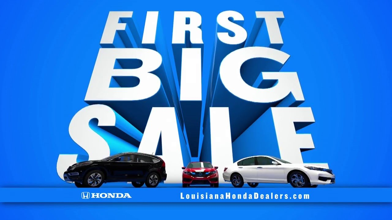 Honda Dealerships In Louisiana >> Louisiana Honda Dealers First Big Sale Cr V Special