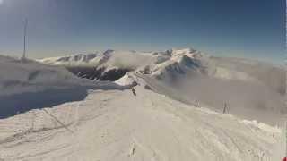 Zjazd z Kasprowego Wierchu - Hala Goryczkowa skiing narty