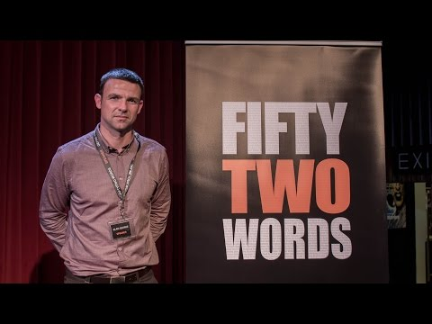 FiftyTwoWords: Event 'Risk' with Alan Quirke