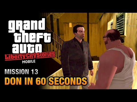 GTA Liberty City Stories Mobile - Mission #13 - Don in 60 Seconds