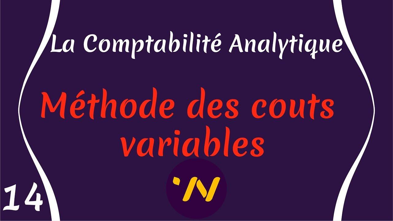 Download 14_ Comptabilité Analytique méthode des couts variables