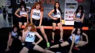 """Kareeya"" cover ""Intro+M-Leg+Wassup"" (K-POP) @ ""Open Snap Cover Dance"""