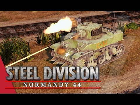 Challenge Accepted! Steel Division: Normandy 44 Beta Gameplay #19 (Colombelles, Very Hard AI)
