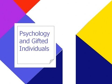 Psychology of Gifted Adults Part 2