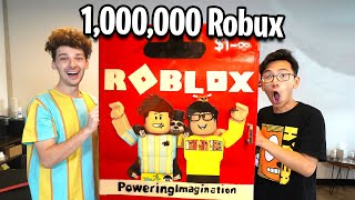 Surprising My Best Friend With 1,000,000 Robux