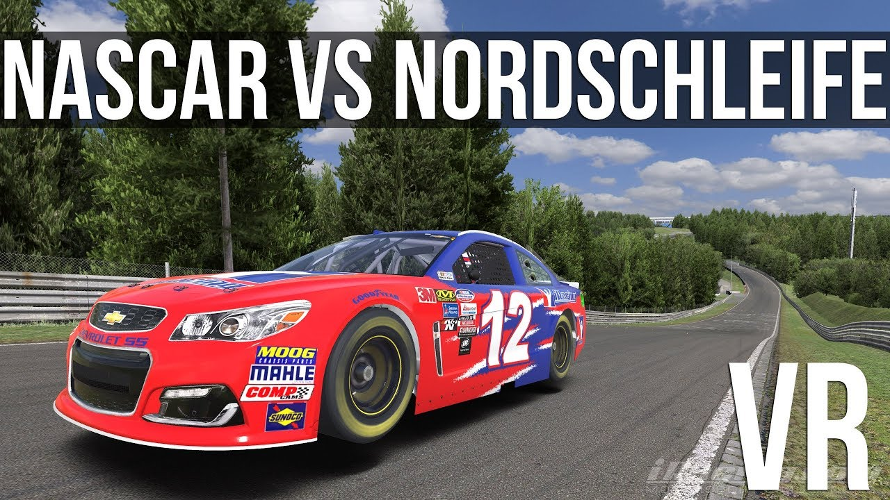 Iracing How Fast Can A Nascar Cup Car Lap The Nordschleife