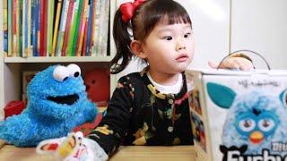 라임이와 장난감 퍼비랑 놀자!  Fun Toys Furby Open & Play おもちゃ игрушка 라임튜브 콩순이