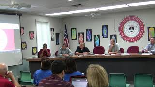 BCSD School Board Meeting 8/23/18