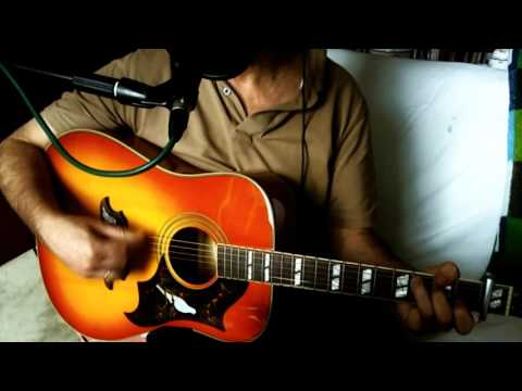 Before The Next Teardrop Falls ~ Duane Dee - Freddy Fender ~ Acoustic Cover w/ Epiphone Dove Pro VB