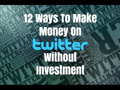 how to make money on twitter ads