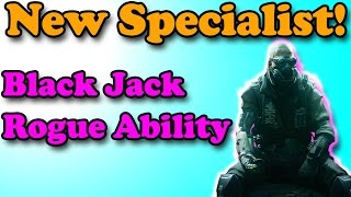 """New Specialist!"" Call of Duty: Black Ops 3-Black Jack Rogue Ability-multiplayer Gameplay (COD BO3)"