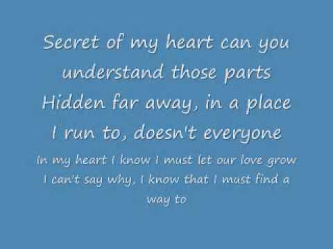 Secret of my heart English lyrics