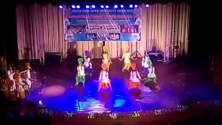 Punjabi bhangara north zone inter university youth festival