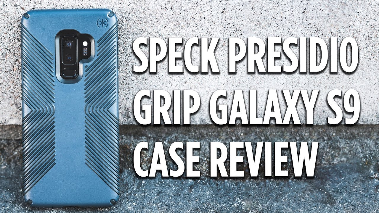 official photos 4dc52 b762e Speck Presidio Grip Galaxy S9 Case Review