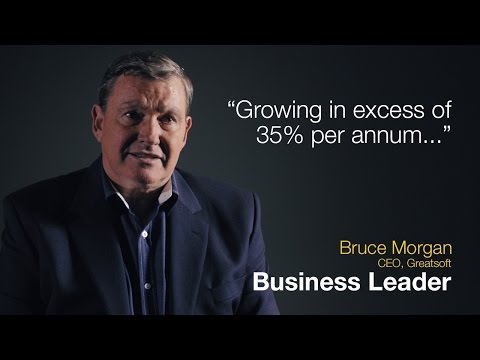 Business Leadership: Growing in excess of 35% per annum...