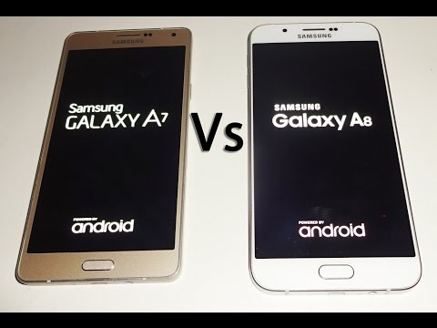 Samsung Galaxy A8 Vs A7