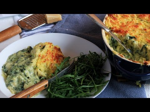 CREAMY SPINACH FISH PIE RECIPE | SIMPLE HOME COOKING | INTHEKITCHENWITHELISA