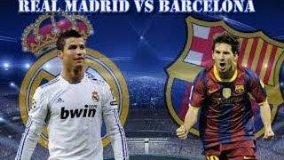Pes 2015 Pc Gameplay walkthrough ☆Real Madrid vs Barcelona☆ -PC (hd 720p)-