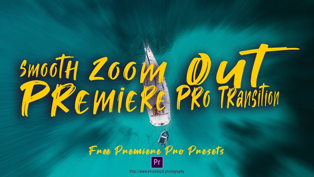Premiere Pro Zoom Transition Preset Pack – Ehsan Majd Photography