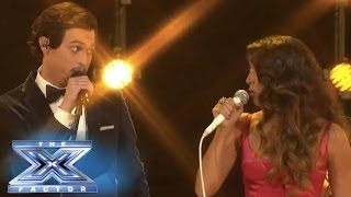 "Alex & Sierra Get Into ""Trouble"" - THE X FACTOR USA 2013"