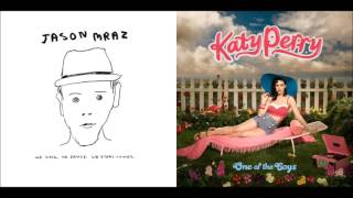 Lucky I Kissed A Girl - Jason Mraz vs. Katy Perry (Mashup)