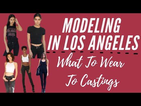 Modeling in LA-What to wear on Castings